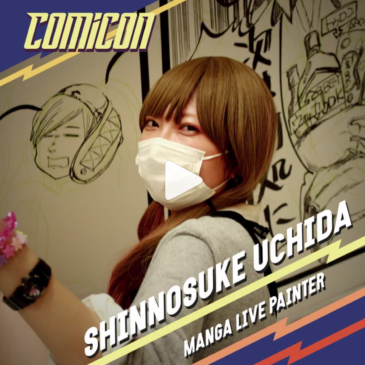 Shinnosuke Uchida @ Napoli Comic Con