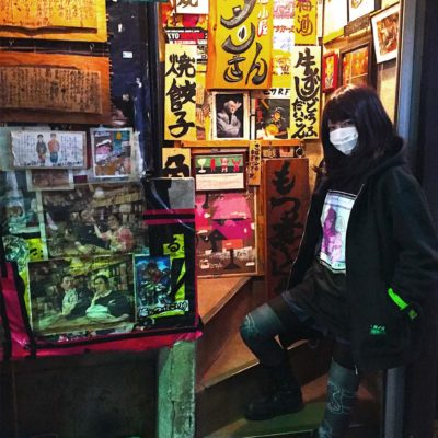 Uchida in Golden Gai