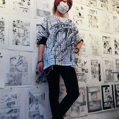 Uchida art exhibit. Harajuku 2018.