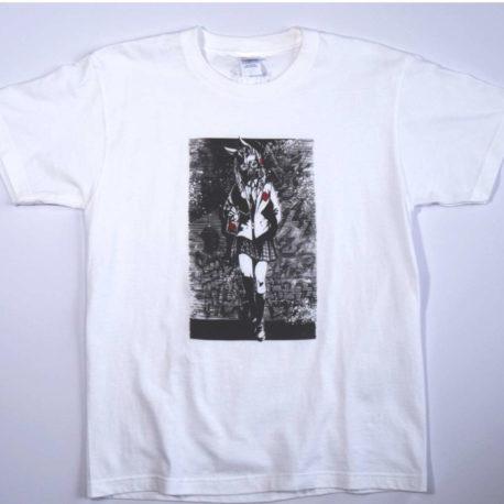 Gas Mask Schoolgirl T-shirt
