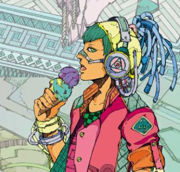 Cyberpunk Ice Cream