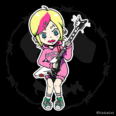 Sugi_Guitar girl