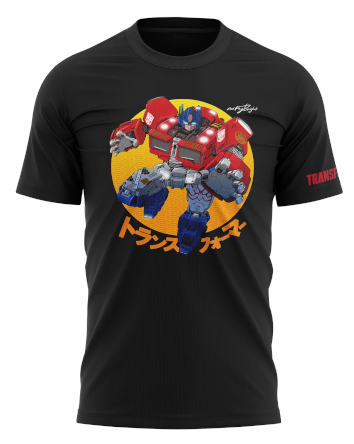 Optimus Prime T-shirt by Acky Bright