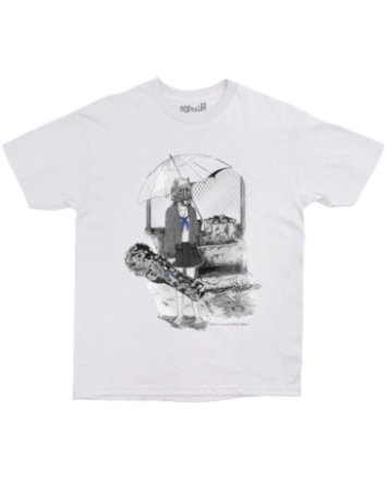 Gas Mask Sailor Tee Grey