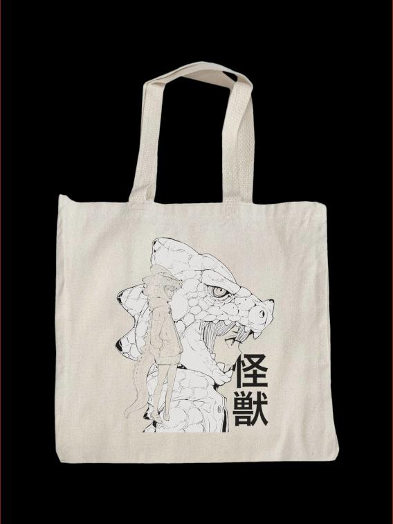 Kaijyu Tote Bag