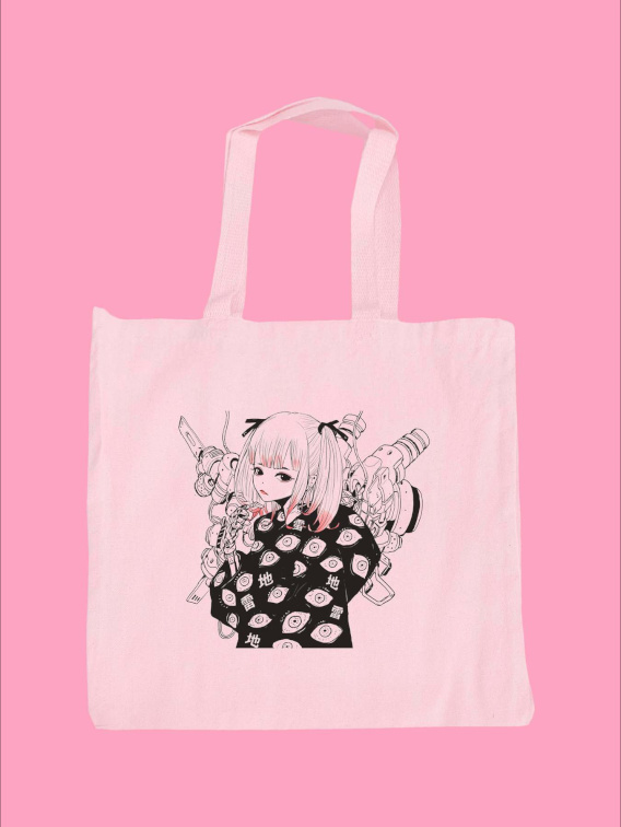 JIRAI chan Tote Bag
