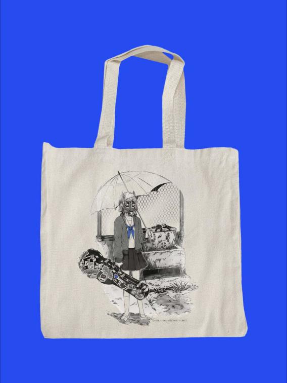 Gas Mask Sailor Tote Bag