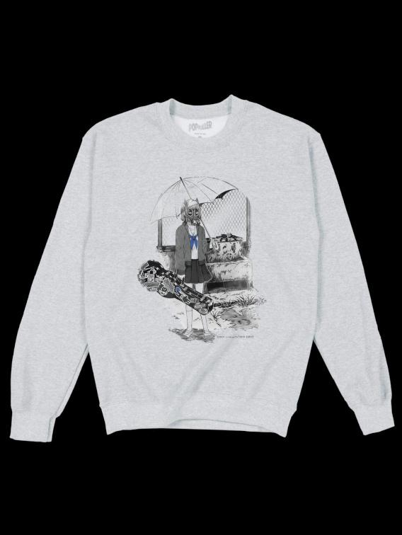 Gas Mask Sailor Sweatshirt