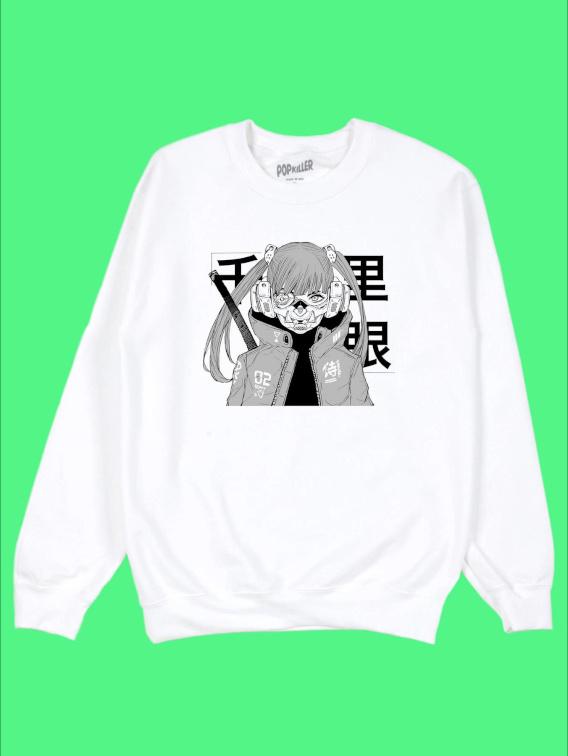 Mask Girl Sweatshirt